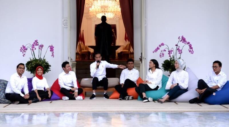 Presiden Jokowi Kenalkan 7 Milenial sebagai Staf Khusus Baru