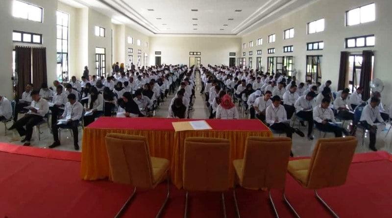 Seleksi Tes Tulis 326 Calon PPK KPU Kabupaten Mojokerto