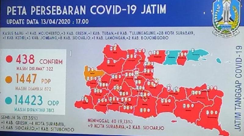 Kabupaten Mojokerto Kini Jadi Zona Merah Corona